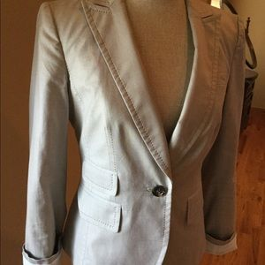 Banana Republic Khaki Tan Blazer Jacket size 6